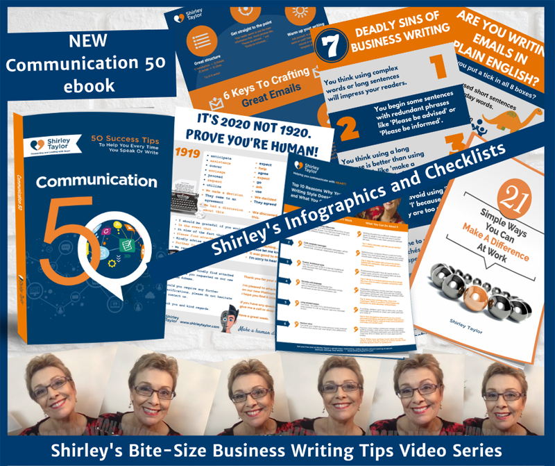 MY BUSINESS WRITING BUNDLE